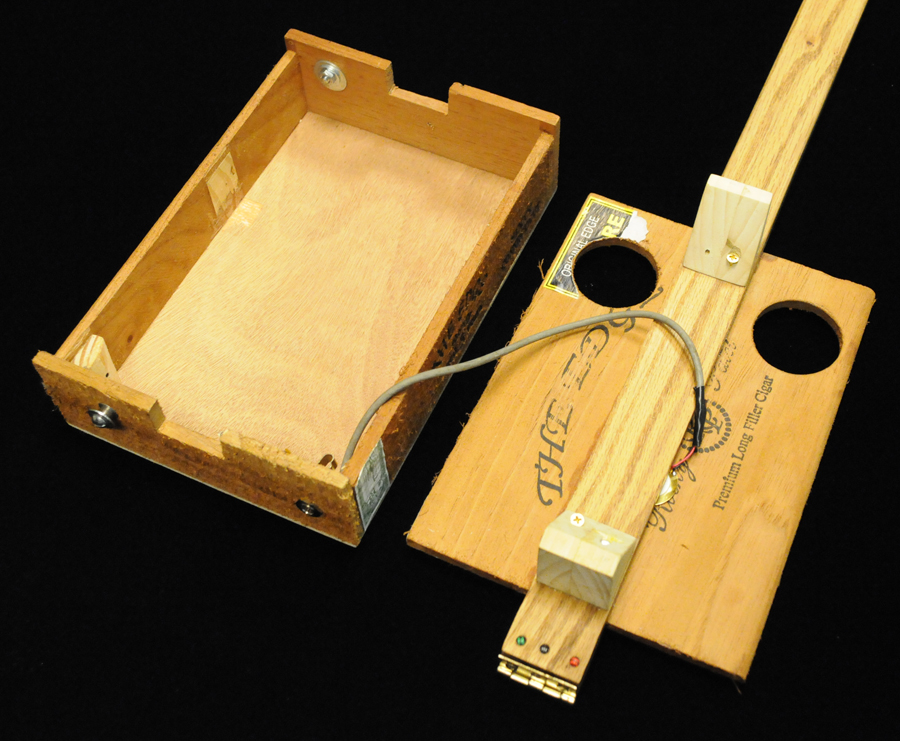 how to build an electric cigar box guitar